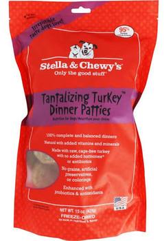 Raw, Cage-free Turkey95% Turkey, Nutrient-rich Organs & Boneorganic Fruits & Vegetablesfortified With Added Vitamins & Mineralsenhanced With Probiotics & Antioxidants100% Complete & Balanced Dinner&#1