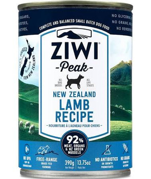 A Single-protein Option For Dogs With Protein Allergies Or Sensitivities. Ziwi Lamb Is Sourced Only From Local New Zealand Farms, Ensuring The Animals Are Free-ranging, Grass-fed And Finished. For The Perfect Finishing Touch, 3% New Zealand Green Mussel I