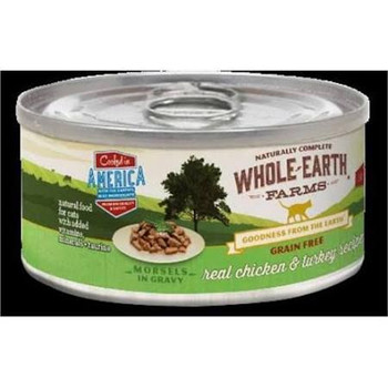 """Our Pet Supplies items consist of high quality selection of pets daily needs and fun time.  Features Whole earth grain free morsel chicken turkey Specifications Capacity: 5 oz"""""""