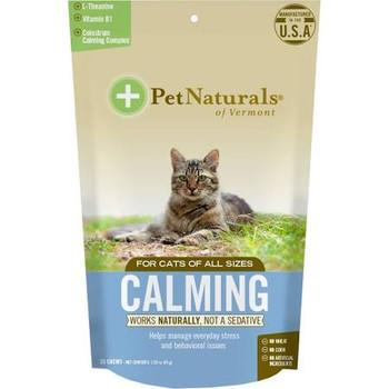 Pet Naturals Of Vermont Calm Cat Chew 1.59z !{L-x} 266086