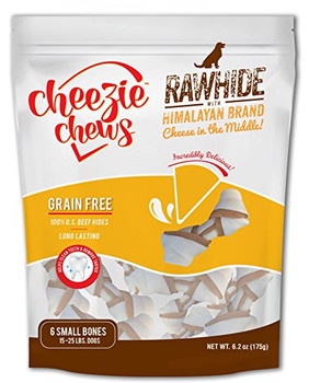 Cheezie Chews Rawhide With Himalayan Brand Cheese In The Middle Combines Two Great Chews Into One Great Product. The Knots Are Made From 100% U.s. Beef Hides And Feature A Center Made From Easily Digestible, Lactose And Fat Free Cheese. The Great Tasting