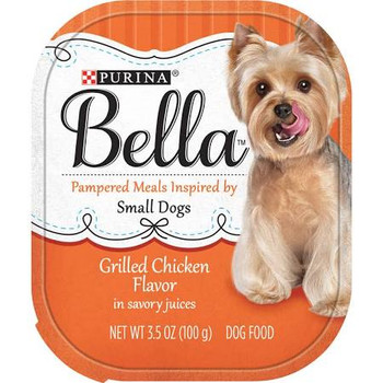 Bella Grilled Chicken Dog 12/3.5z {L-1}050142