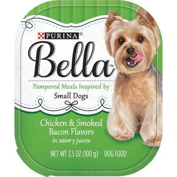 Bella Chicken/Bacon Dog 12/3.5z {L-1}050144
