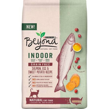 """Natural cat food + essential nutrients.  New!  Healthy weight.  Natural fiber.  Immune health.  Salmon is the No. 1 ingredient.  No corn, wheat or soy.  No poultry by-product meal.  No artificial colors, flavors or preservatives.  What We Believe: Fo"""""""