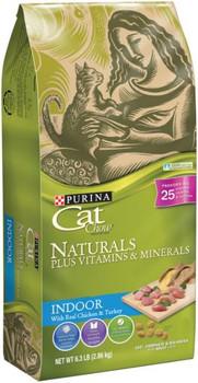 Cat Chow Natural 4/6.3lb *REPL 178023
