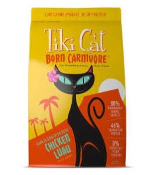 Tiki Cat Born Carn Ckn Luau 12/9z {L-x} C= 759119