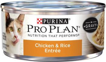 Purina Pro Plan Savor Adult Chicken & Rice Entree Cat 24/5.5Z