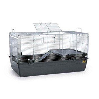 Tight wire spacing for ferrets and a wide range of other small animal pets, including rats, hedgehogs, and guinea pigs Snap-on/off mesh and roundcornered base for easy cleaning