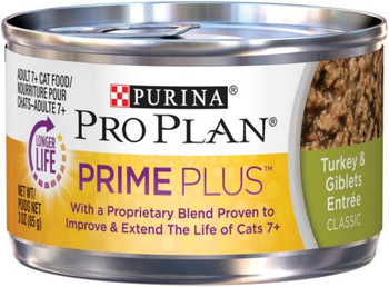 Pro Plan Prime+ Turkey/Giblets Entree Cat 24/3z
