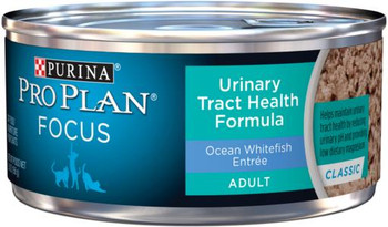 Purina Pro Plan Focus Adult Urinary Tract Health Ocean Whitefish Cat 24/5.5Z