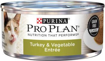 Purina Pro Plan Savor Adult Turkey & Vegetable Entree Cat 24/5.5Z