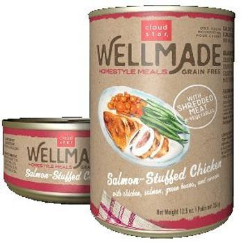 Grain Free Salmon Stuffed Chicken 12.5oz Can 12 Case