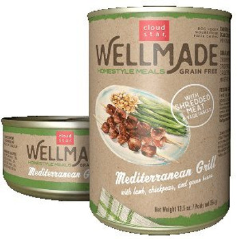 Grain Free Mediterranean Grill Lamb 12.5oz Can 12 Case