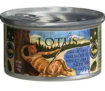 Lotus Cat Grain-free Salmon Pate 2.75oz
