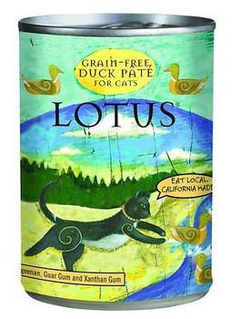 Lotus Cat Pate Grain Free Duck 12.5oz