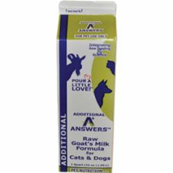 Answers Dog Frozen Additional Goat Milk 1 Quart
