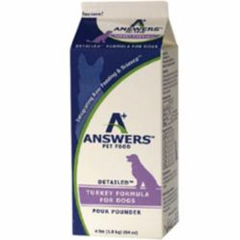 Answers Detailed Formula Provides A Superior, Wholesome And Balance Diet Of Only The Highest-quality Sourced And Fermented Ingredients, Suitable For All Life Stages. Our Quality Protein, Fat-balanced And High-vitamin Formulations Ensure Your Pet Receives