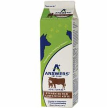 Answers Dog Frozen Fermented Cows Milk Kefir 1qt