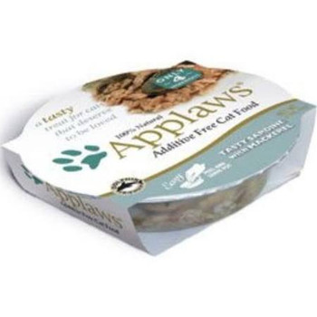 Applaws Cat Sardine - Mackerel Peel Top Dish 2.12oz
