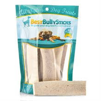 """Barkworthies Braided Beef Gullet is an all natural, long-lasting dog chew with naturally occurring glucosamine and chondroitin.  It features three beef gullets braided together into a mega-chew - great for aggressive chewers.  These healthy treats ar"""""""