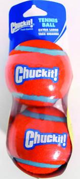 Chuckit Dog Tennis Ball Extra Large 2 Pack {L-x}