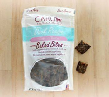 Caru Natural Grain Free Lamb Recipe Bites For Dogs-4-oz-{L-tx}