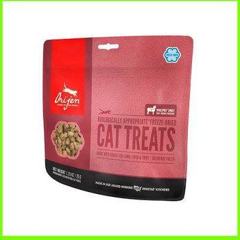 100% grass-fed Kentucky lamb is the single-source ingredient in Orijen Grass-Fed Lamb Treats for Cats.  Fresh lamb arrives in richly nourishing ratios of meat, organs and cartilage that mirror nature, providing a natural source of virtually every nut""