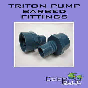 Deep Blue Triton 3/4 Barbed Fitting-102661