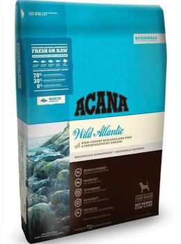 Reflecting the rich maritime harvest from Canada's pristine Pacific waters, ACANA Pacifica is loaded with Pacific salmon, herring and flounder   all delivered fresh each day from North Vancouver Island.  ACANA's rich diversity of fresh, wild-caught f""