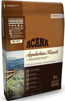 Honoring the Appalachian ranching heritage, this region-inspired food is loaded with Angus beef, Yorkshire pork, Suffolk lamb, American bison and freshwater catfish.  Delivered fresh or raw, in Wholeprey   ratios, and brimming with goodness and taste""