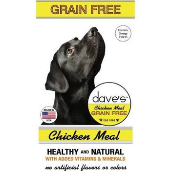 Dave's Pet Food Dog Grain-free Country Blend Chicken 4lb
