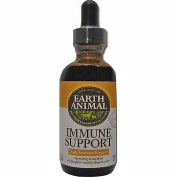 """Earth Animal Immune Support Dog SupplementHelp your dogs and cats have a healthy Immune System with this natural supplement.  It is packed with herbs including immune boosting echinacea and goldenseal.  The immune system is what helps keep your dog f"""""""