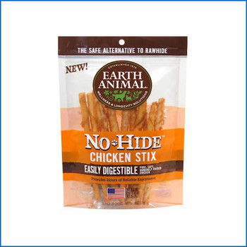 Earth Animal Dog No Hide Chicken Small 10pk {L-x}