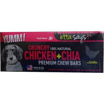 Etta Says Dog Crunchy Chew Bars Chicken 12 Count !{L-x} Pak12