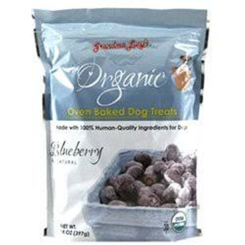 """Grandma Lucys Organic Oven Baked Blueberry Flavor Dog Treats 14-oz bag Grandma Lucy's organic dog treats are not made in a factory but baked in a bakery by people who love their pets.  Since 1999, Grandma Lucy's has taken great pride in making wholes"""""""