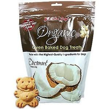 """Grandma Lucy's Organic Coconut Oven Baked Dog Treats, 14-oz bag Grandma Lucy's Cookies are made using USDA Inspected and Approved ingredients from trusted suppliers around the world!  This recipe contains 100% USDA Organic ingredients which are of hu"""""""