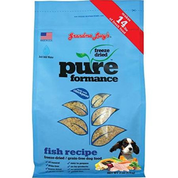 """Pureformance Pet Food is a whole new approach to freeze-dried pet food.  Our delicious selection of unique proteins such as Chicken, Lamb, Rabbit, Goat and Fish are accompanied by highly nutritious chickpeas, fruits and vegetables made with Chickpeas"""""""