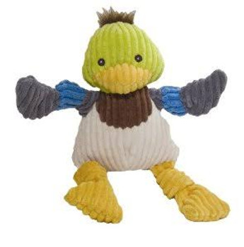 """ALLURE PET PRODUCTS LLC KNOTTIE DUCK (10181)-------- Super soft corduroy plush material is a wonderful, irresistable fabric for dog toys. Each arm and foot features a wonderful knot to gnaw on and a squeaker to capture pets attention. Features tuffut"""""""