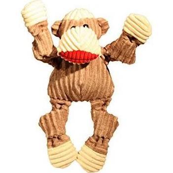 hugglehounds Dog Knottie Sock Monkey Small