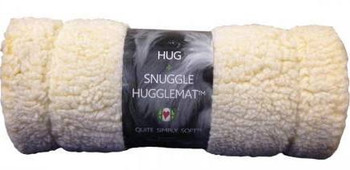 """An extraordinary product sure to please pets, from puppies to senior and every dog in between.  Huggle Mat is made of dense, synthetic lambs wool featuring all the same, great attributes of natural lambs wool, keeping dogs comfortable while perfectly"""""""