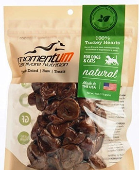 Momentum Carnivore Nutrition Treats Are A Natural Delicacy For Dogs And Cats And Are Intended For Supplemental Feeding. They Are Processed And Vacuum-seal Packaged For Freshness, All In Their Manufacuring Facility In Manitowoc, Wisconsin.rich Protein Sour