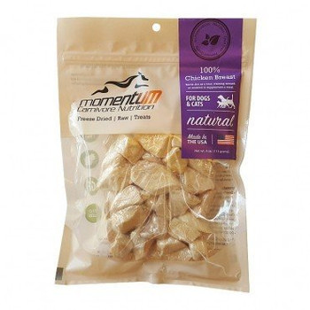 Momentum Dog Cat Freeze-dried Chicken Breast 1oz