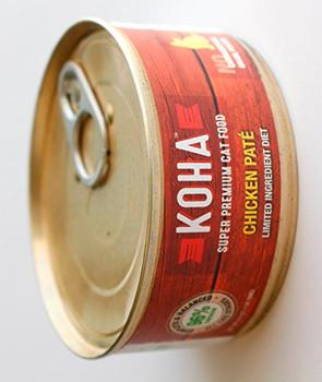 Koha Cat Grain Free 96% Chicken 5.5oz