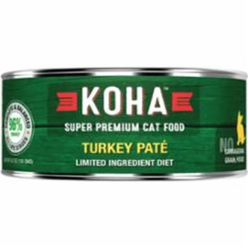 <p>Koha Cat Grain Free 95% Turkey 5.5oz</p>