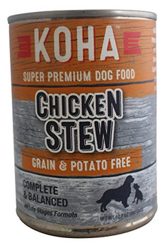 Koha Dog Grain Free Stew Chicken 12.7oz