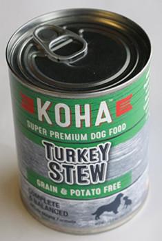 Koha Dog Grain Free Stew Turkey 12.7oz