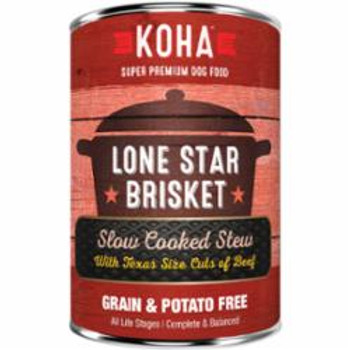 Koha Dog Grain Free Lone Star Stew 12.7oz