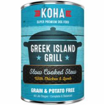 Koha Dog Grain Free Greek Island Stew 12.7oz