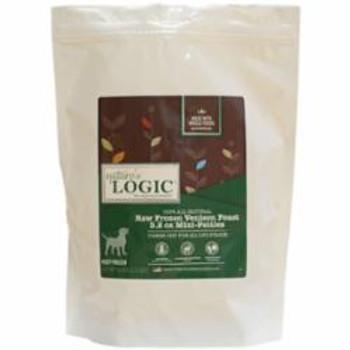 Nature's Logic Dog Frozen Venison Patty 3.2oz 6lb Bag