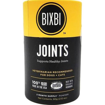 """It is made with powerful antioxidants and medicinal mushrooms.  The Joint formula features NEM (Natural Eggshell Membrane) which will help reduce joint and tissue pain.  Great for dogs with sore joints, arthritis, soft-tissue irritation or inflammati"""""""